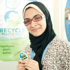 Azza Abdel Hamid Faiad at the EU Contest for Young Scientists in 2011 - European Commission