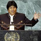 Evo Morales, Bolivian president