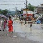 Inondations au Népal