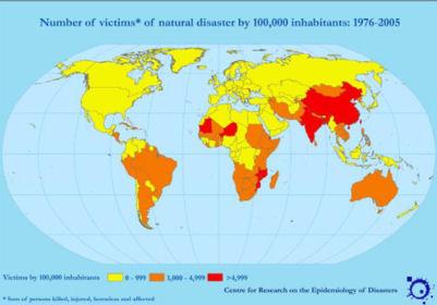 Natural Disaster World Map